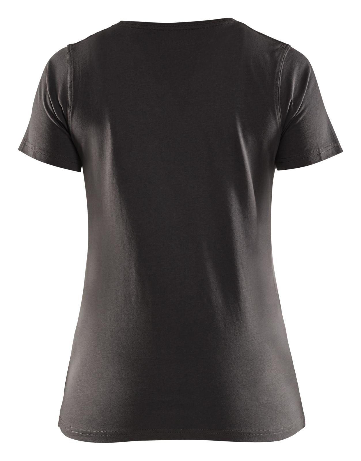 Blaklader Dames T-shirts 33341042 donkergrijs(9800)