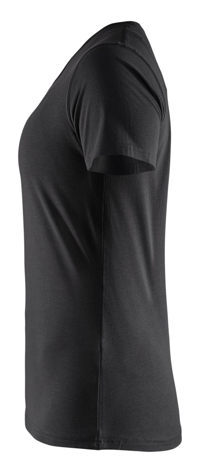 Blaklader Dames T-shirts 33341042 zwart(9900)