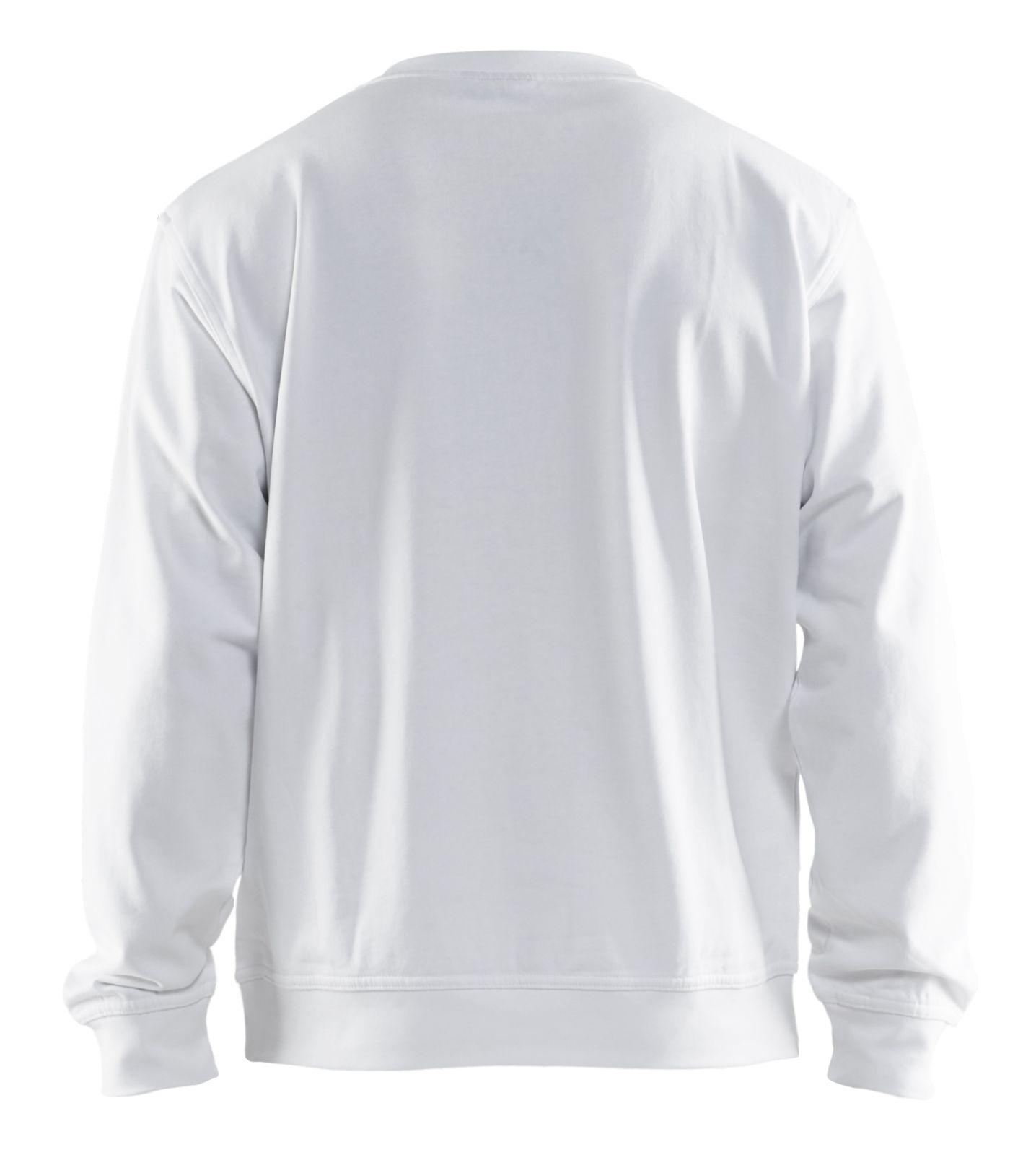 Blaklader Sweatshirts 33401158 wit(1000)