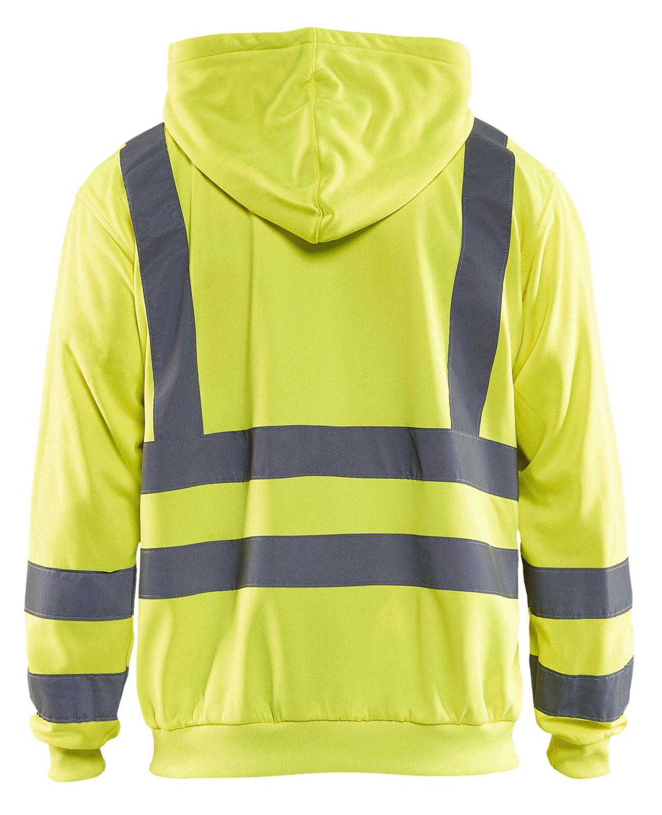 Blaklader Hooded sweatvesten 33461974 High Vis geel(3300)