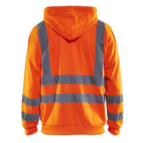 Blaklader Hooded sweatvesten 33461974 High Vis oranje(5300)