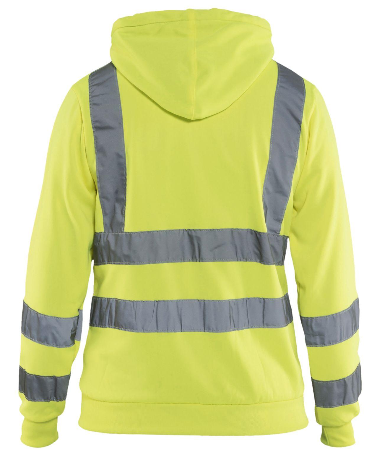 Blaklader Dames hooded sweatvesten 33471974 High Vis geel(3300)