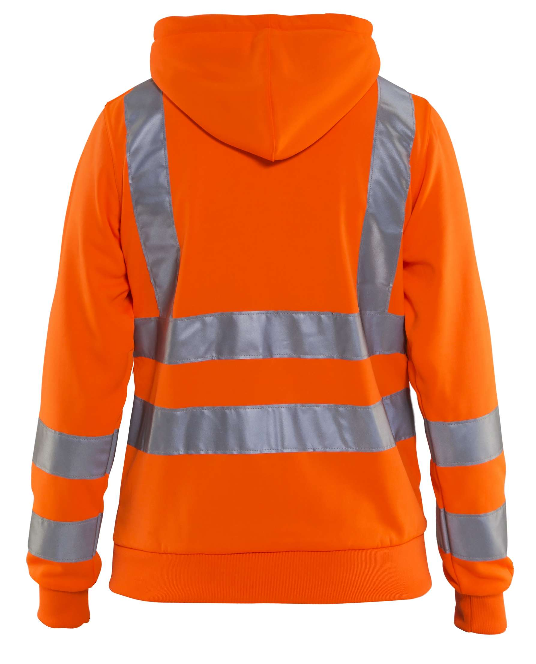 Blaklader Dames hooded sweatvesten 33471974 High Vis oranje(5300)