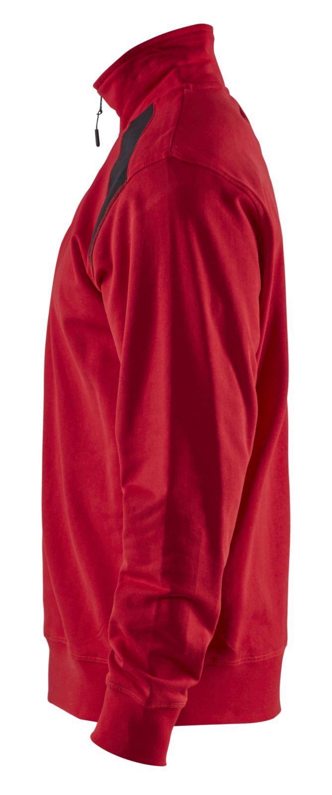 Blaklader Sweatshirts 33531158 rood-zwart(5699)