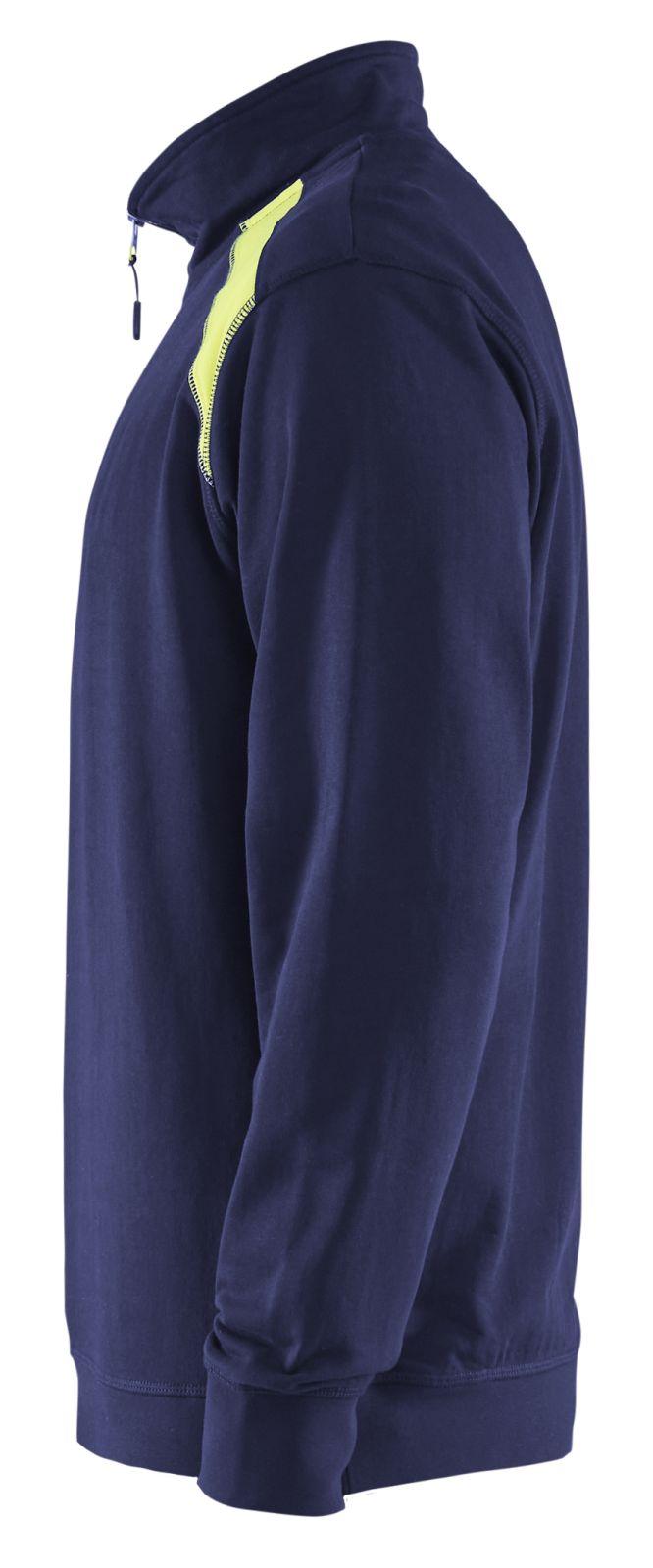 Blaklader Truien 33531158 marineblauw-geel(8933)