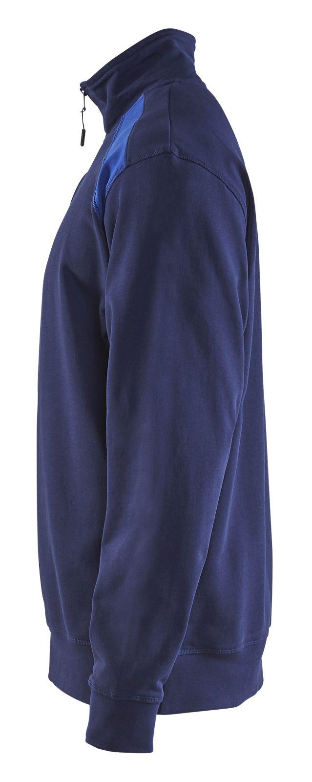 Blaklader Sweatshirts 33531158 marineblauw-korenblauw(8985)