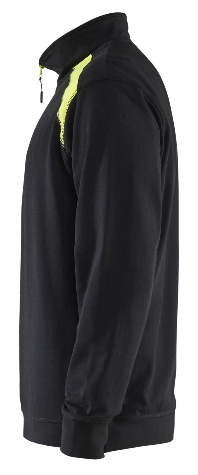 Blaklader Truien 33531158 zwart-geel(9933)