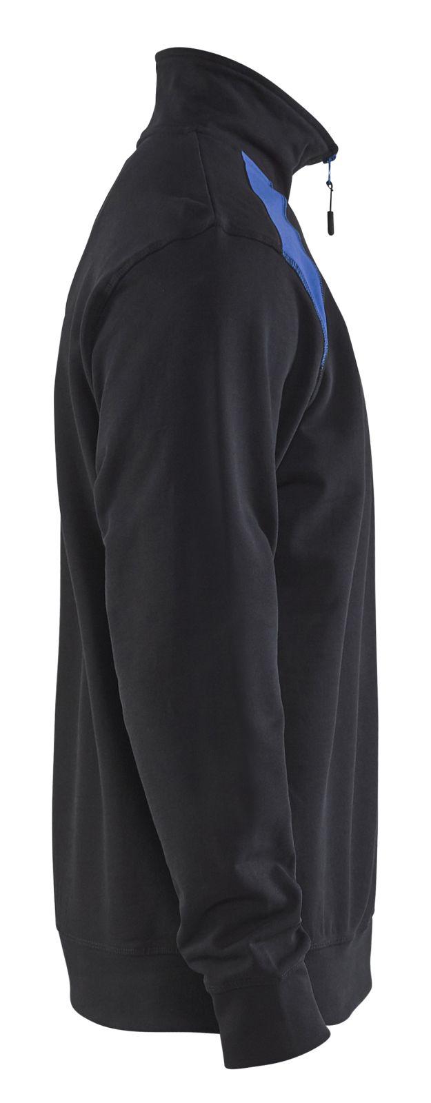 Blaklader Truien 33531158 zwart-korenblauw(9985)