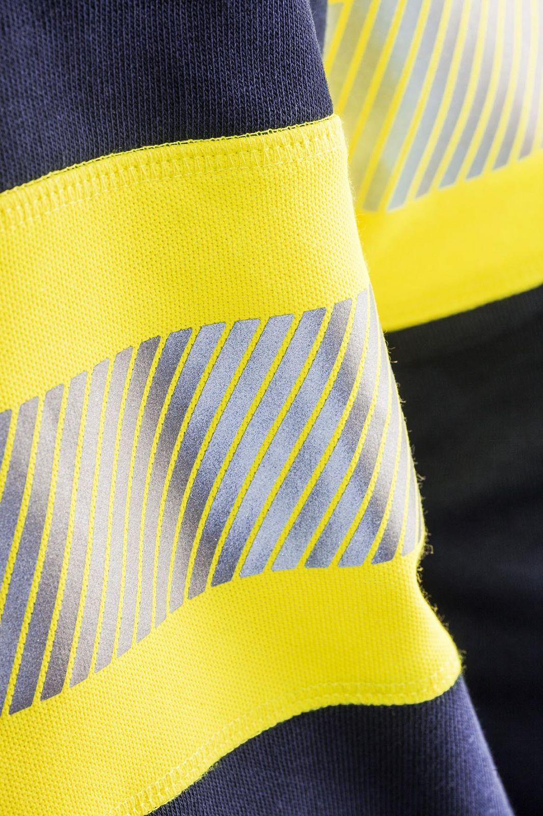 Blaklader Sweatshirts 33591158 High Vis marineblauw-geel(8933)