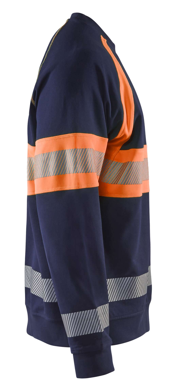 Blaklader Sweatshirts 33591158 High Vis marineblauw-oranje(8953)