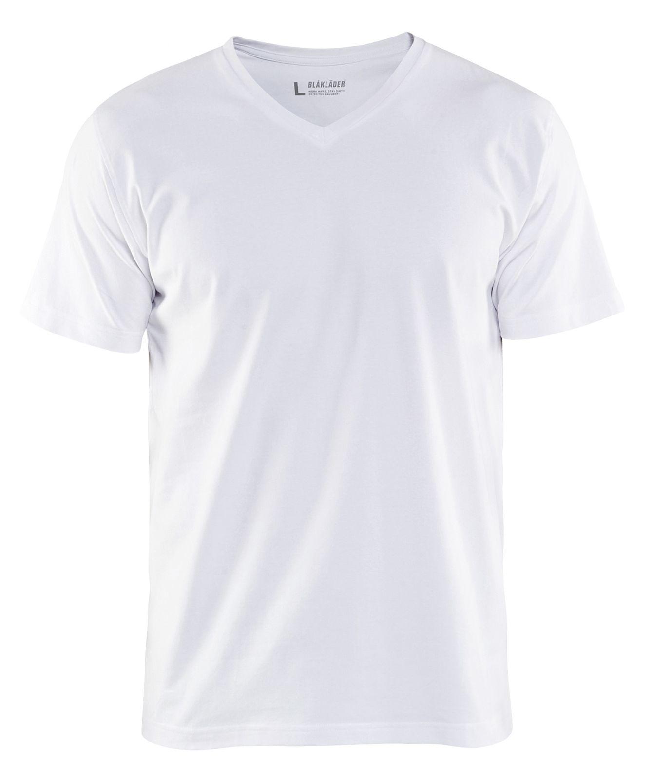 Blaklader T-shirts 33601029 wit(1000)
