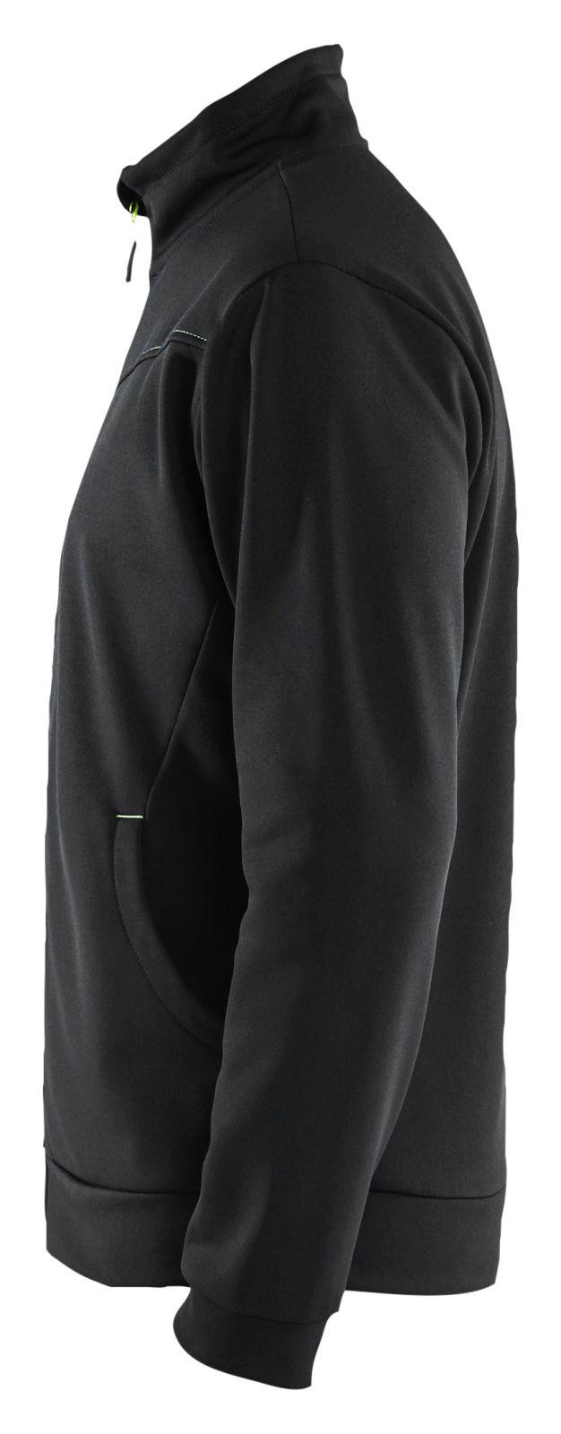 Blaklader Vesten 33622526 zwart-geel(9933)