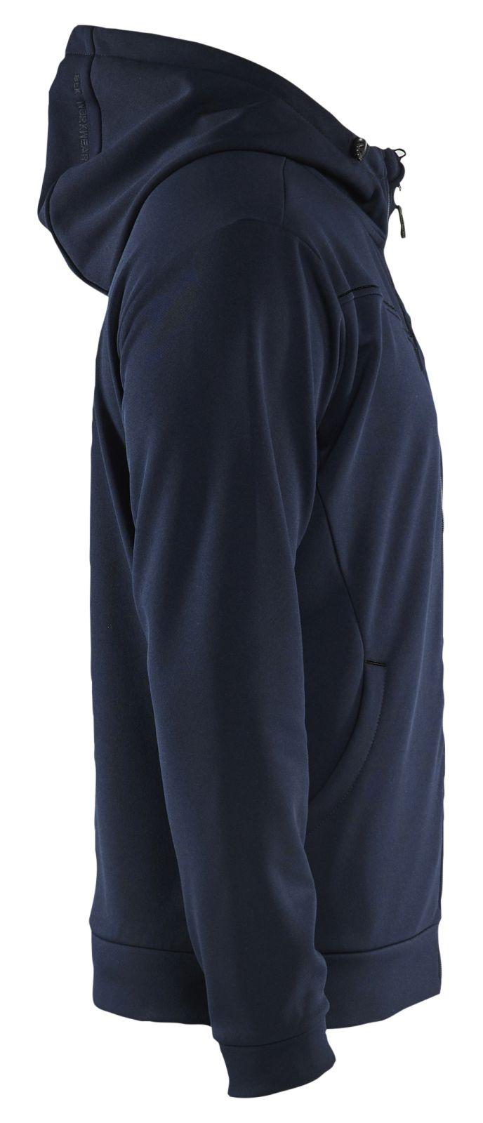Blaklader Hooded sweatvesten 33632526 donker marineblauw-zwart(8699)