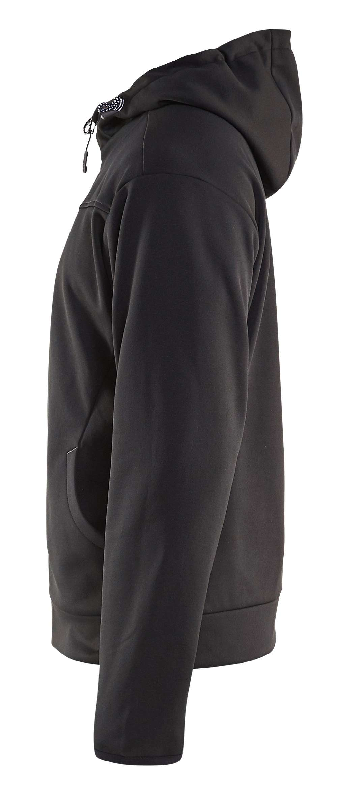 Blaklader Hooded sweatvesten 33632526 zwart-grijs(9998)