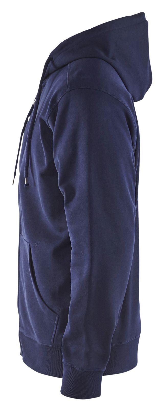 Blaklader Hooded sweatvesten 33661048 marineblauw(8800)