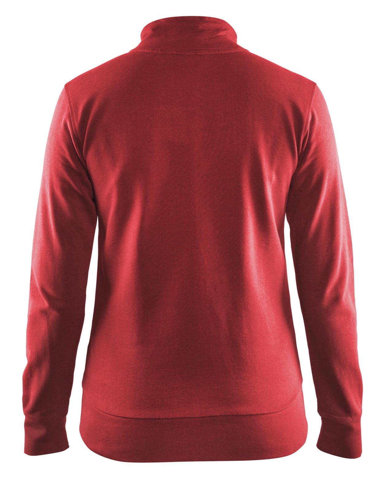 Blaklader Dames sweatvesten 33721158 rood(5600)
