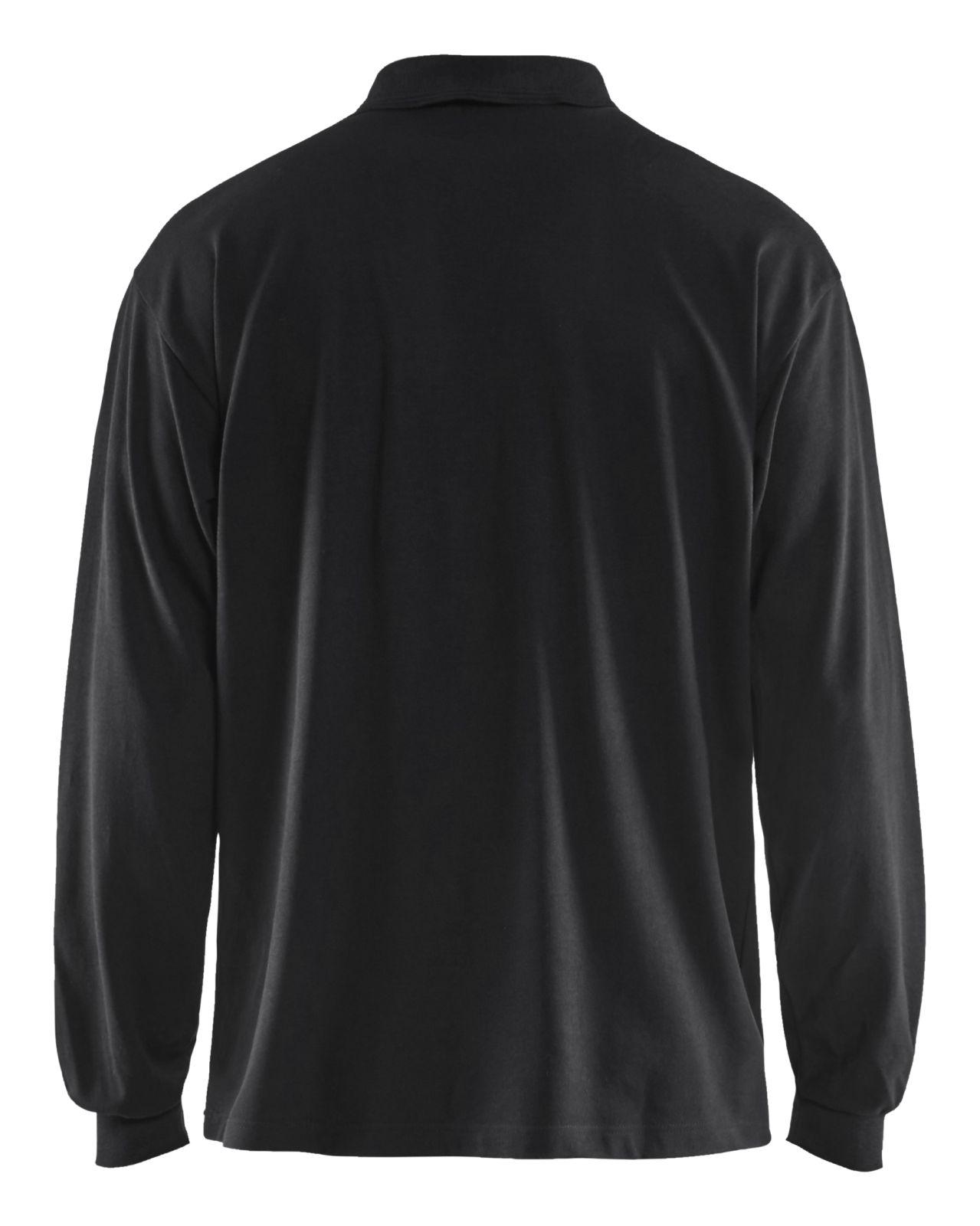 Blaklader Poloshirts 33741726 vlamvertragend zwart