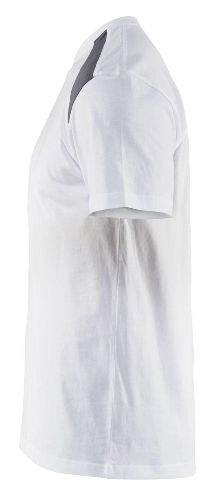 Blaklader T-shirts 33791042 wit-grijs(1094)