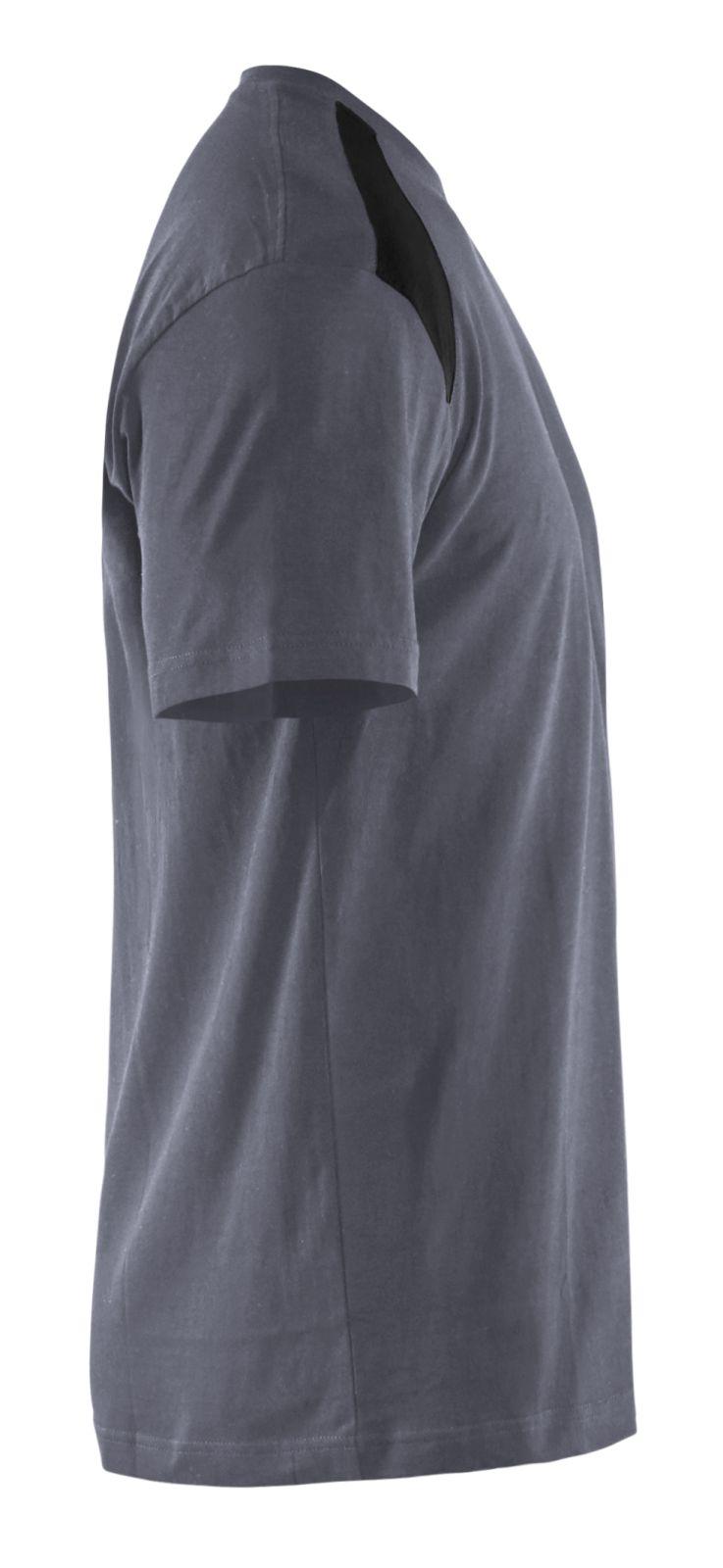 Blaklader T-shirts 33791042 grijs-zwart(9499)