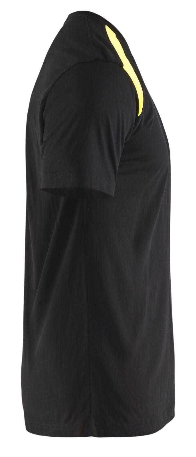 Blaklader T-shirts 33791042 zwart-geel(9933)