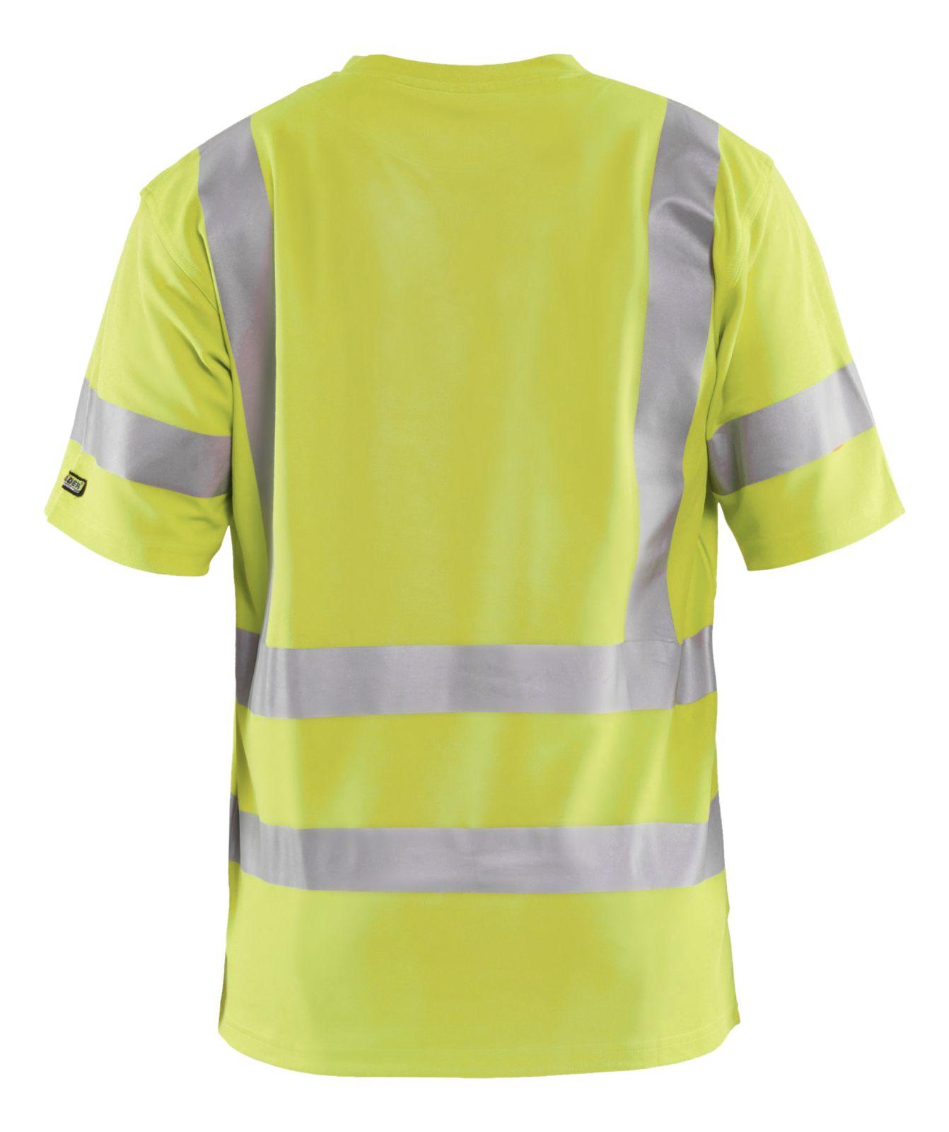 Blaklader T-shirts 33801070 High Vis UPF40+ UV geel(3300)