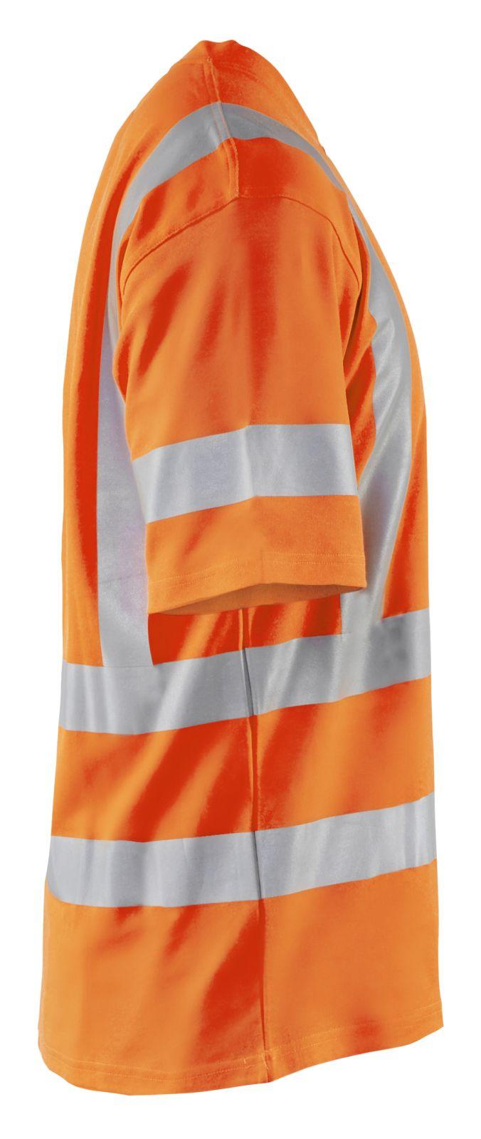 Blaklader T-shirts 33801070 High Vis UPF40+ UV oranje(5300)