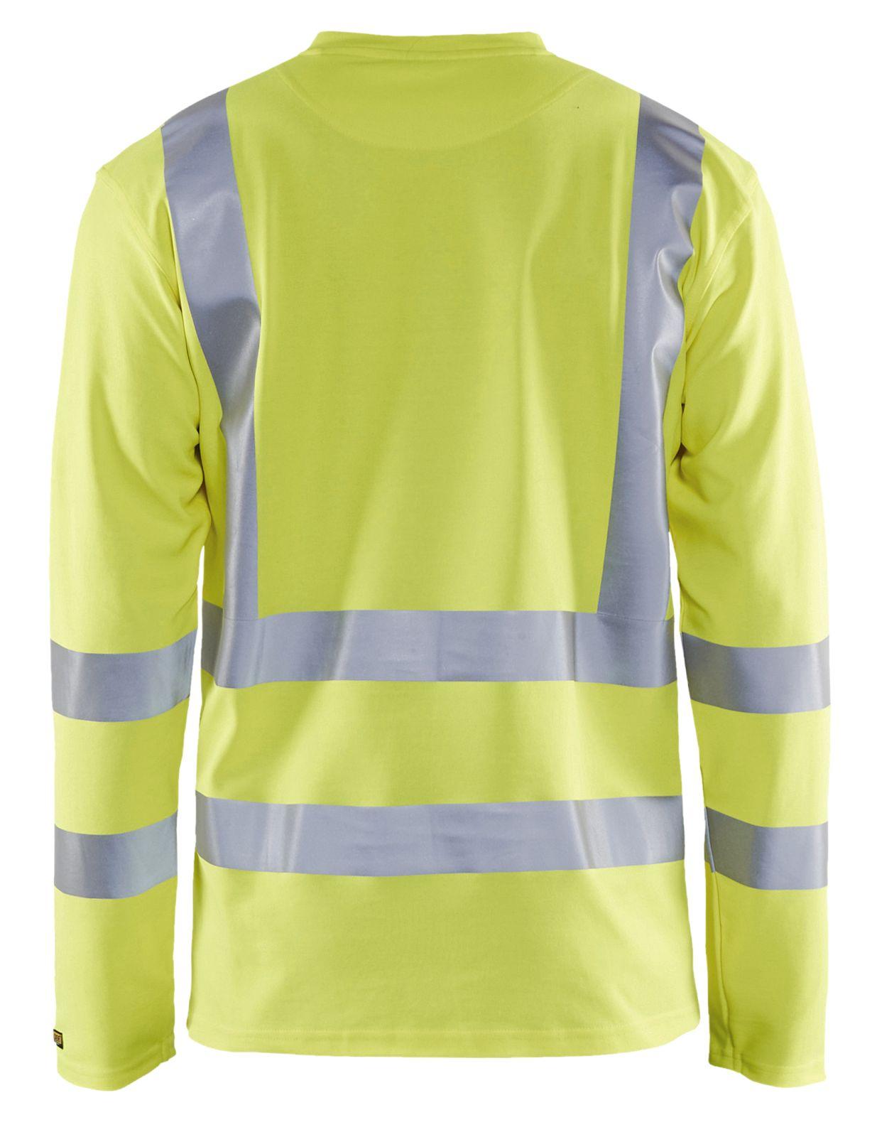 Blaklader T-shirts 33811070 High Vis UPF40+ UV geel(3300)