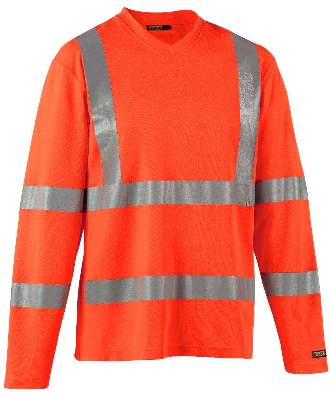Blaklader T-shirts 33811070 High Vis UPF40+ UV oranje(5300)