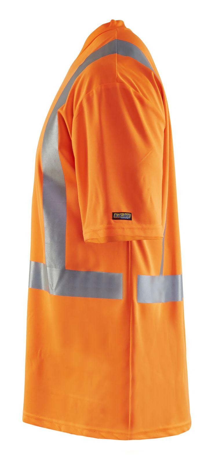 Blaklader T-shirts 33821011 High Vis UPF40+ UV oranje(5300)