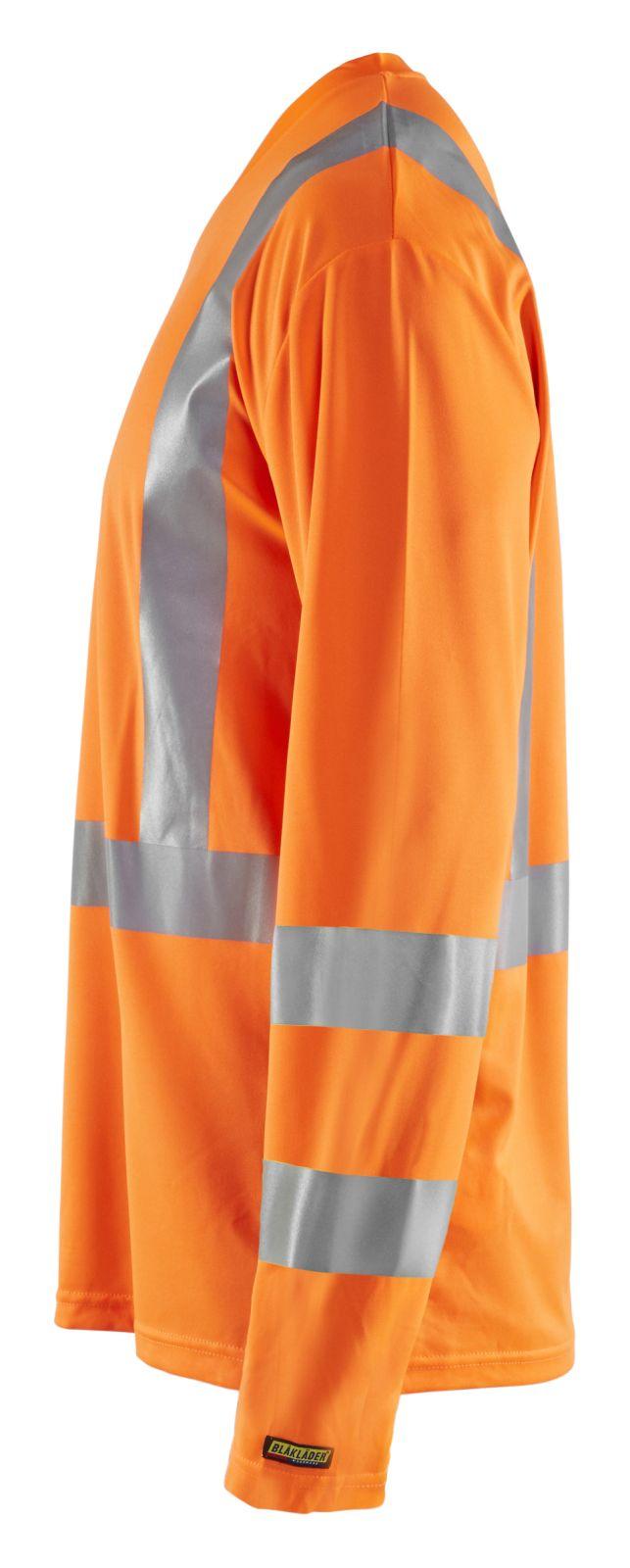 Blaklader T-shirts 33831011 High Vis UPF40+ UV oranje(5300)