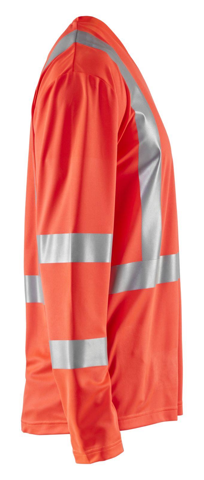 Blaklader T-shirts 33831011 High Vis UPF40+ UV fluo-rood(5500)