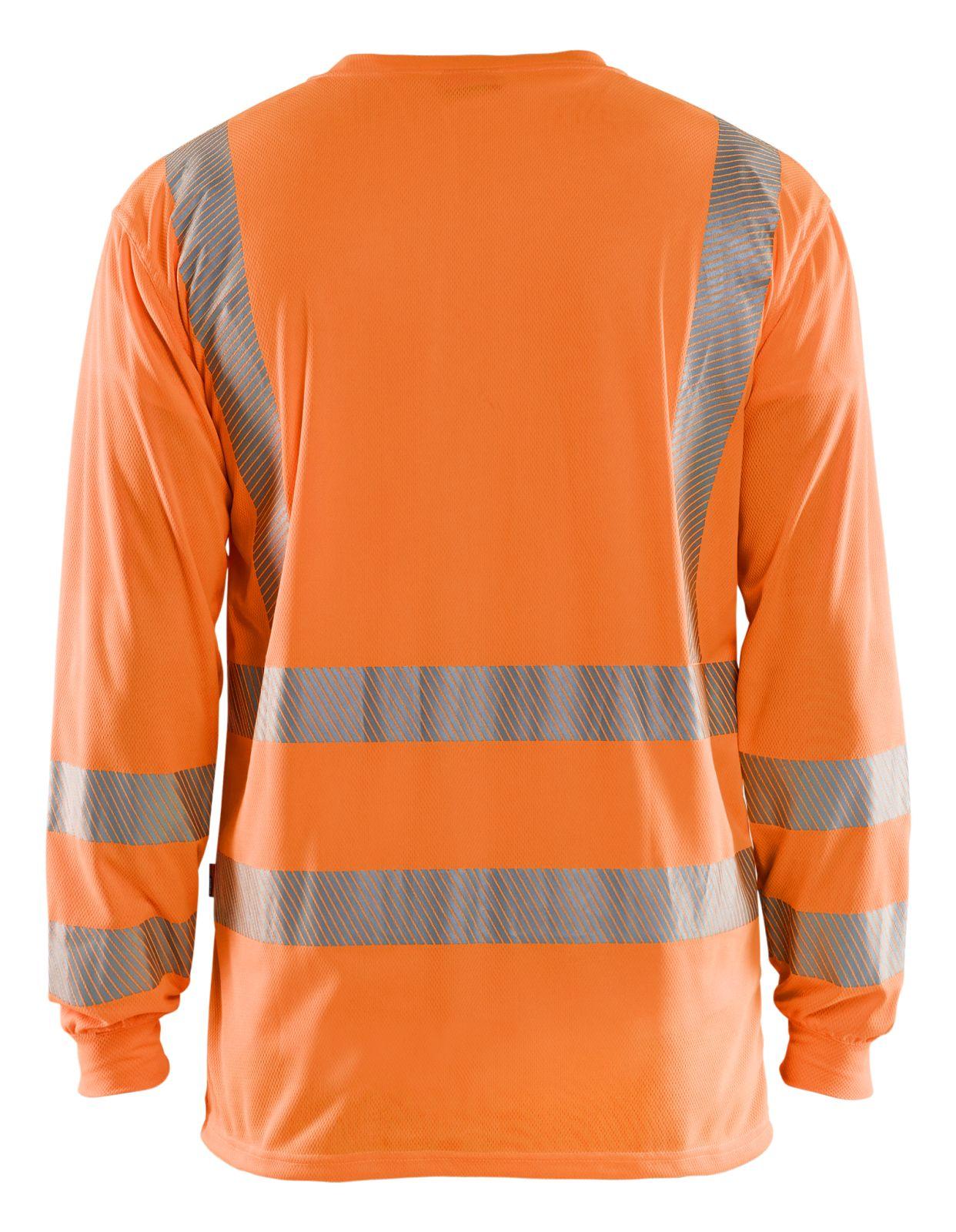 Blaklader T-shirts 33851013 High Vis UPF40+ UV oranje(5300)