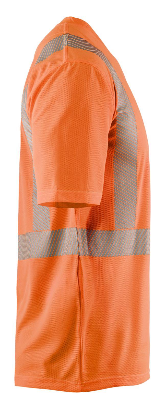 Blaklader T-shirts 33861013 High Vis UPF40+ UV oranje(5300)