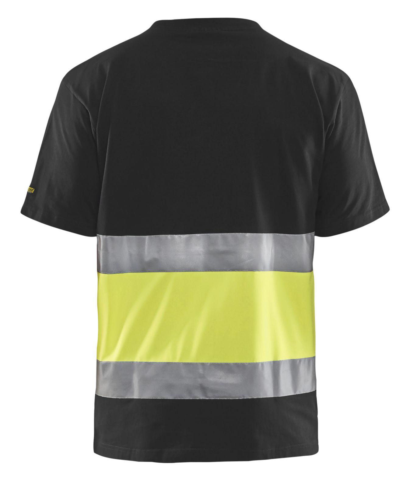 Blaklader T-shirts 33871030 High Vis zwart-geel(9933)
