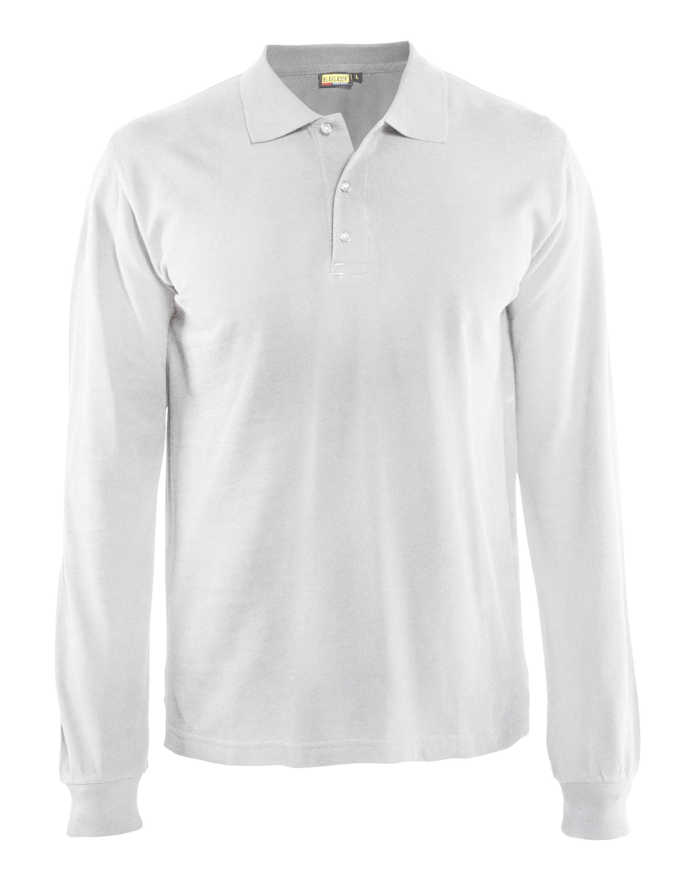 Blaklader Polo shirts 33881050 wit(1000)