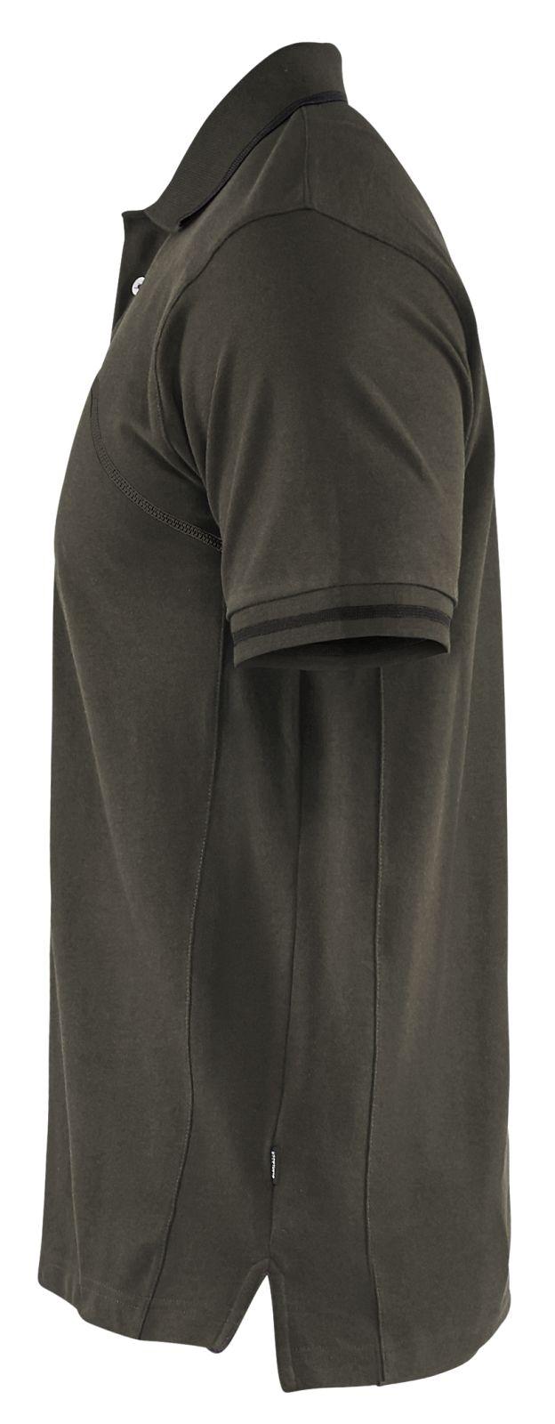 Blaklader Poloshirts 33891050 groen-zwart(4599)