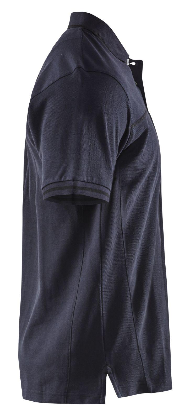 Blaklader Poloshirts 33891050 donker marineblauw-zwart(8699)