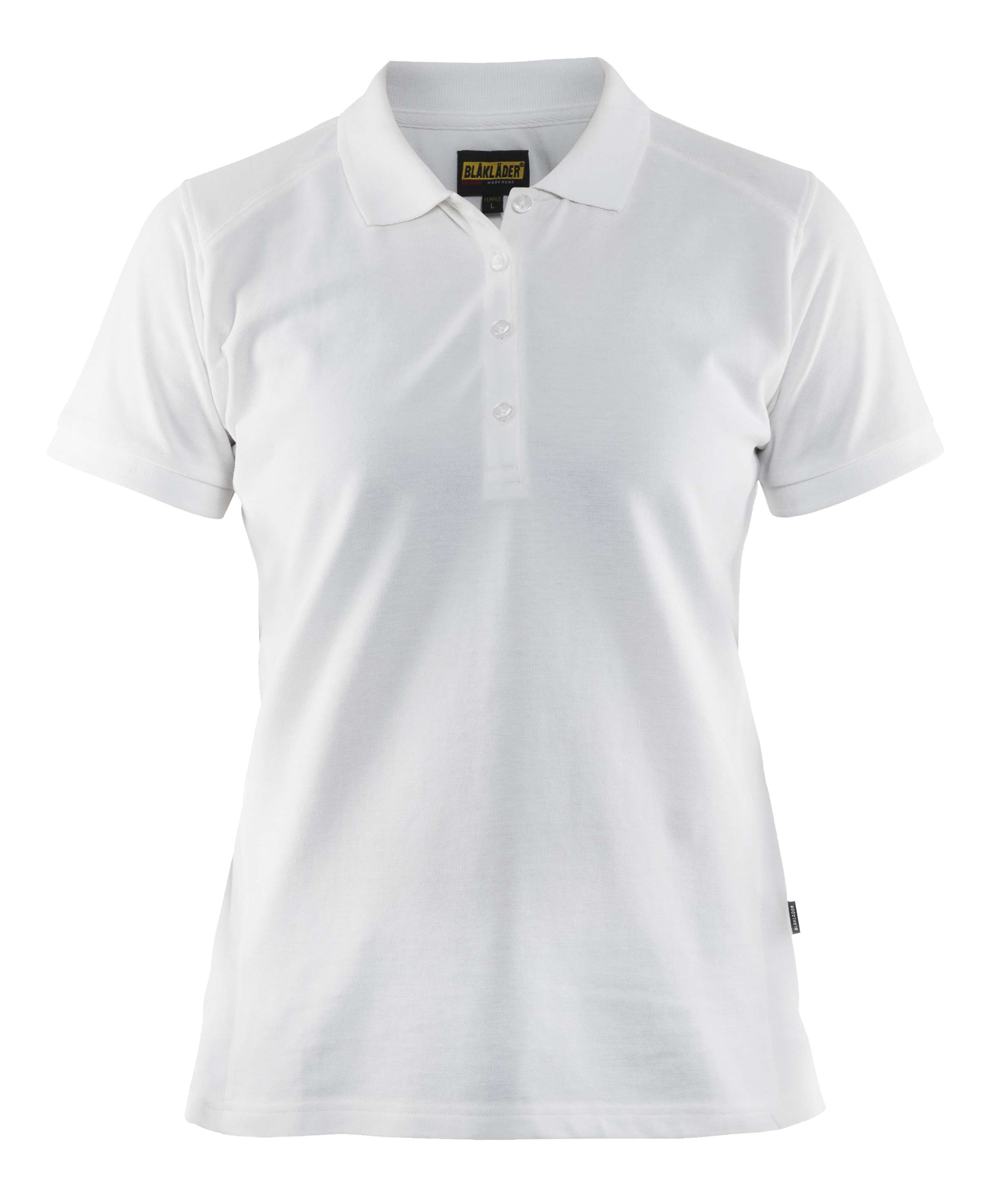 Blaklader Dames polo shirts 33901050 wit(1000)