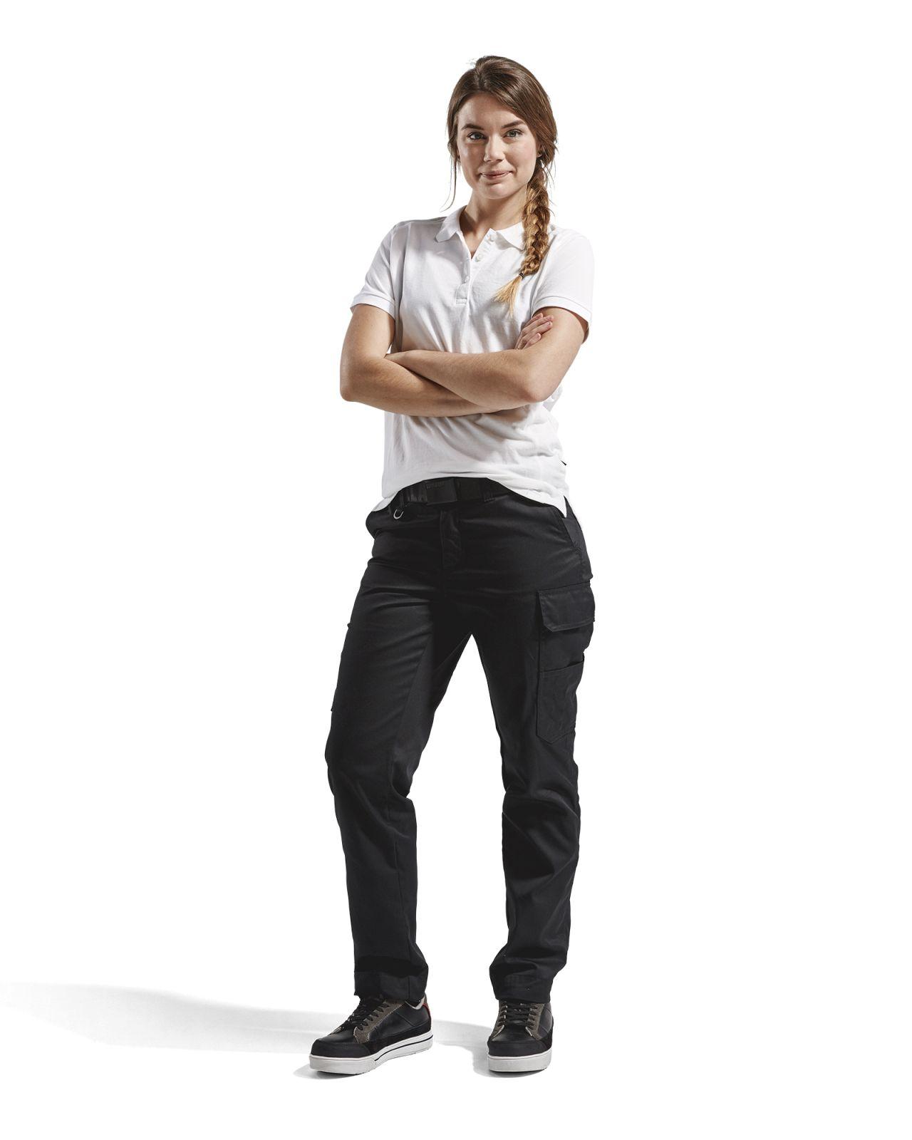 Blaklader Poloshirts 33901050 wit(1000)