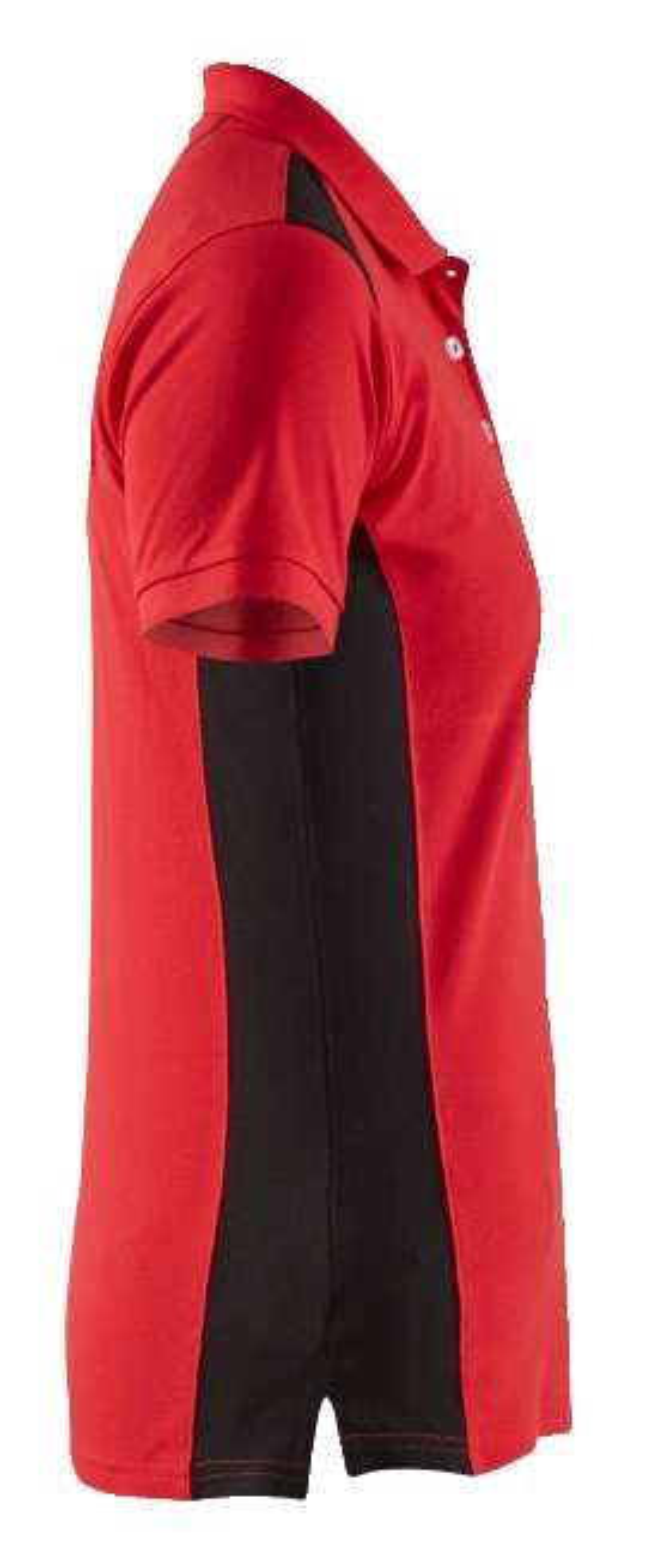 Blaklader Dames polo shirts 33901050 rood-zwart(5699)