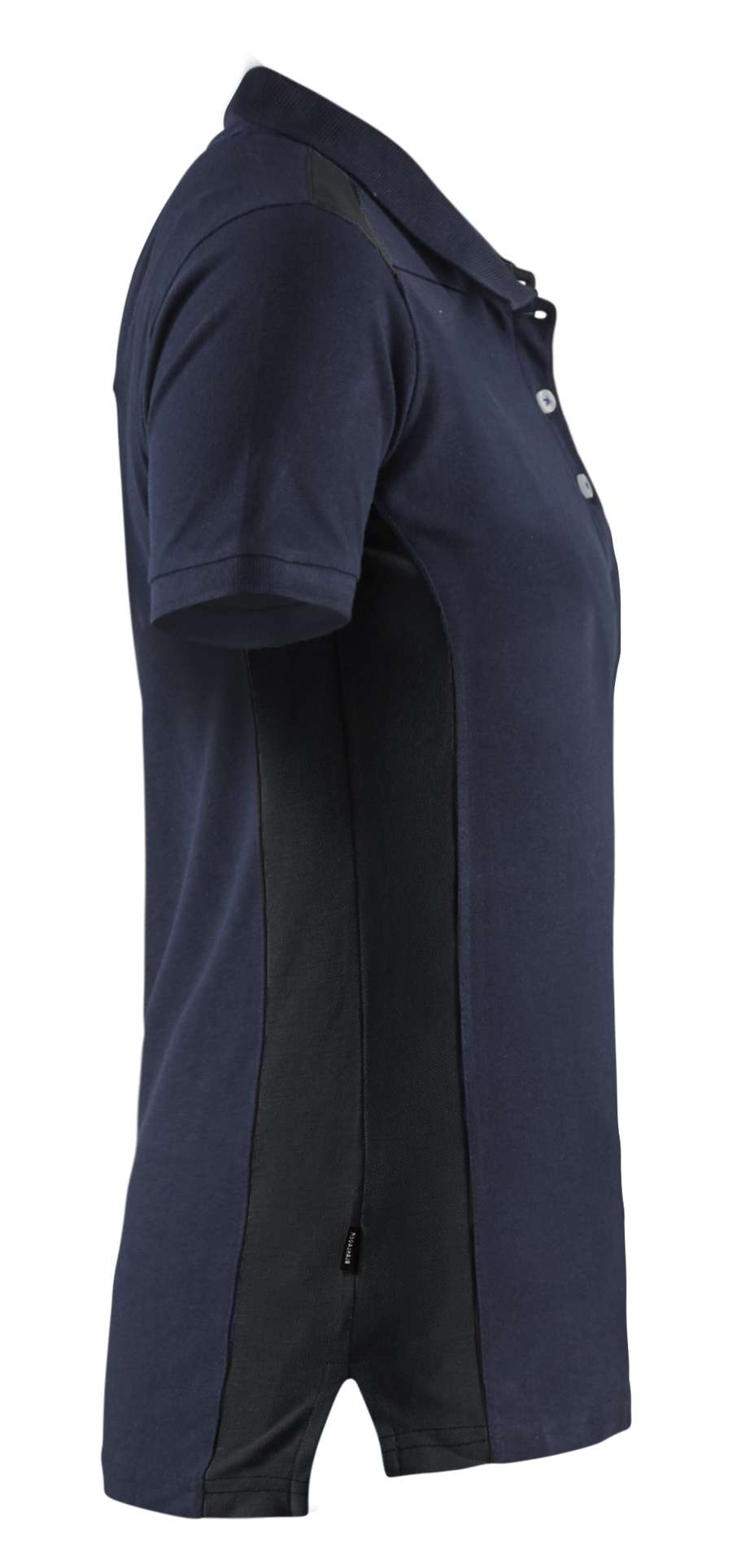 Blaklader Dames polo shirts 33901050 donker marineblauw-zwart(8699)