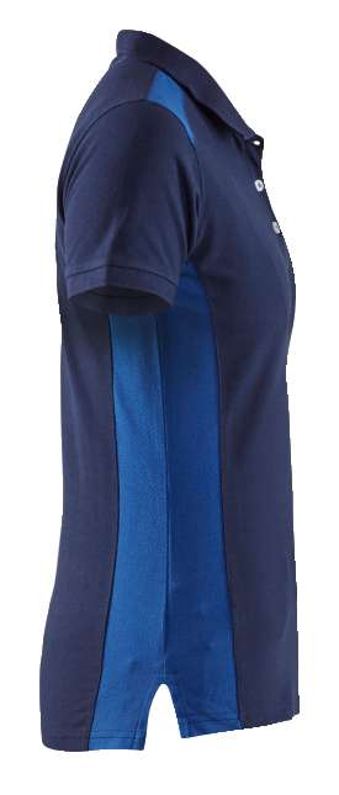 Blaklader Dames polo shirts 33901050 marineblauw-korenblauw(8985)
