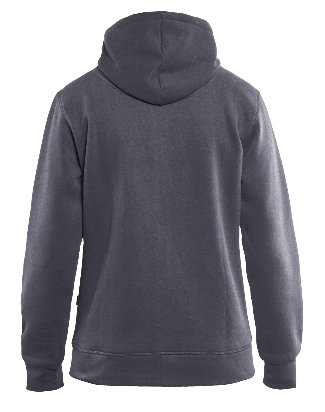 Blaklader Dames hooded sweatvesten 33951048 grijs(9400)