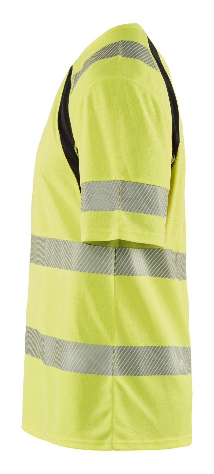 Blaklader T-shirts 33971013 High Vis UPF40+ UV fluo geel-zwart(3399)