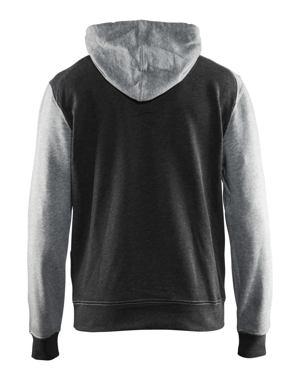 Blaklader Hooded sweatshirts 33991157 zwart melange-grijs(9990)