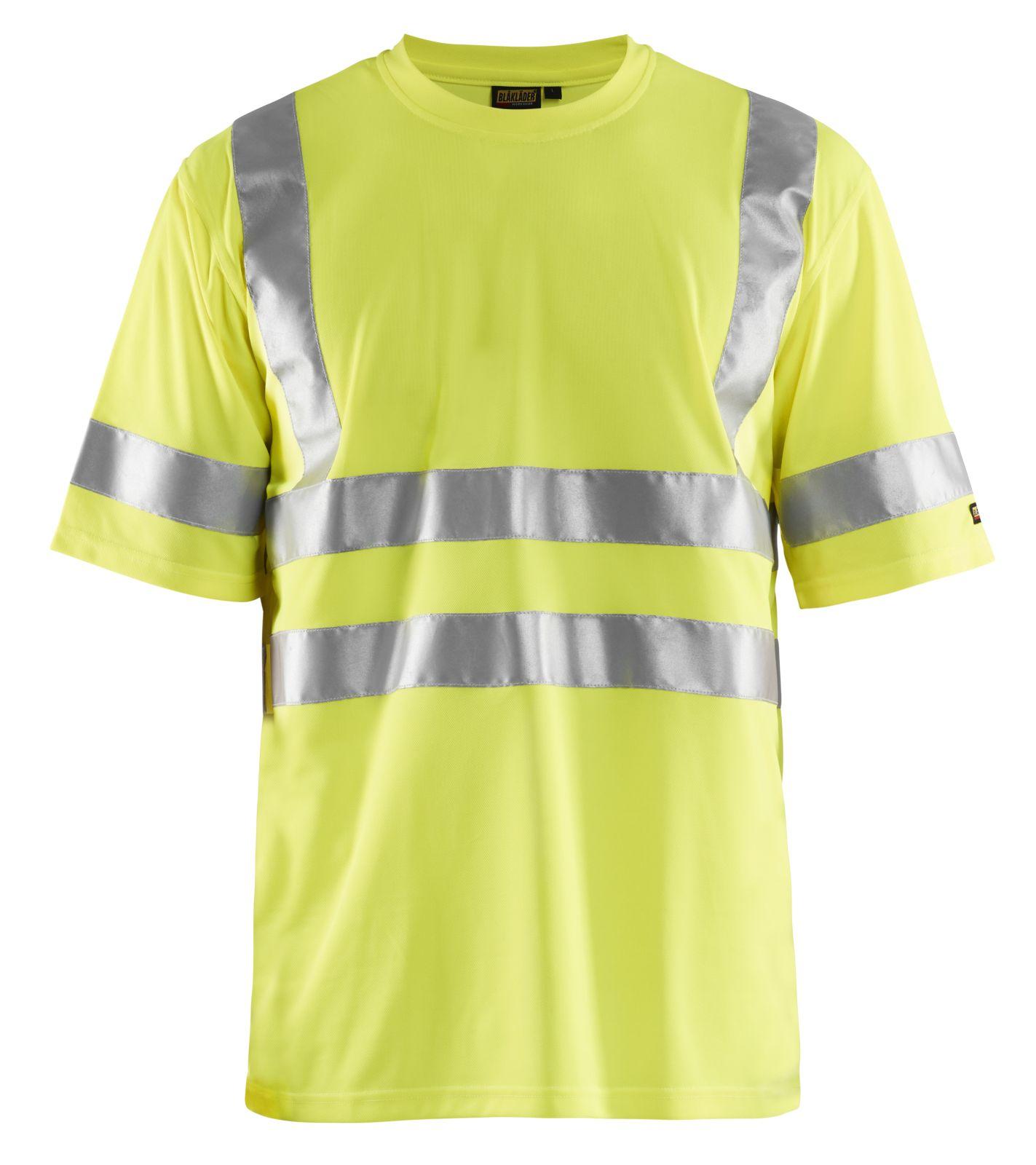 Blaklader T-shirts 34131009 fluo-geel(3300)