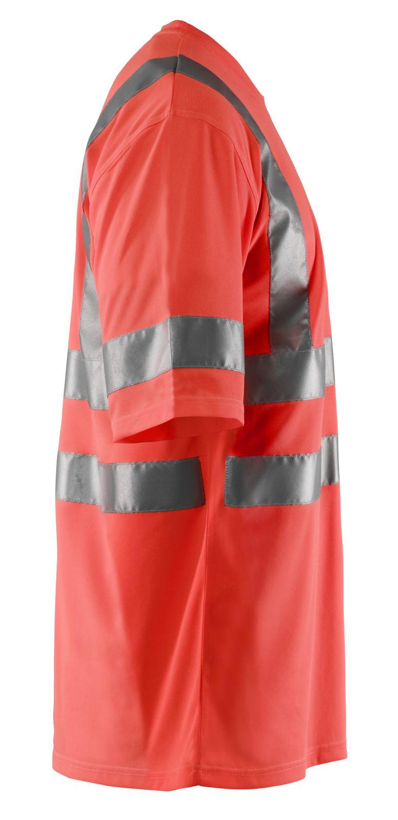 Blaklader T-shirts 34131009 fluo-rood(5500)