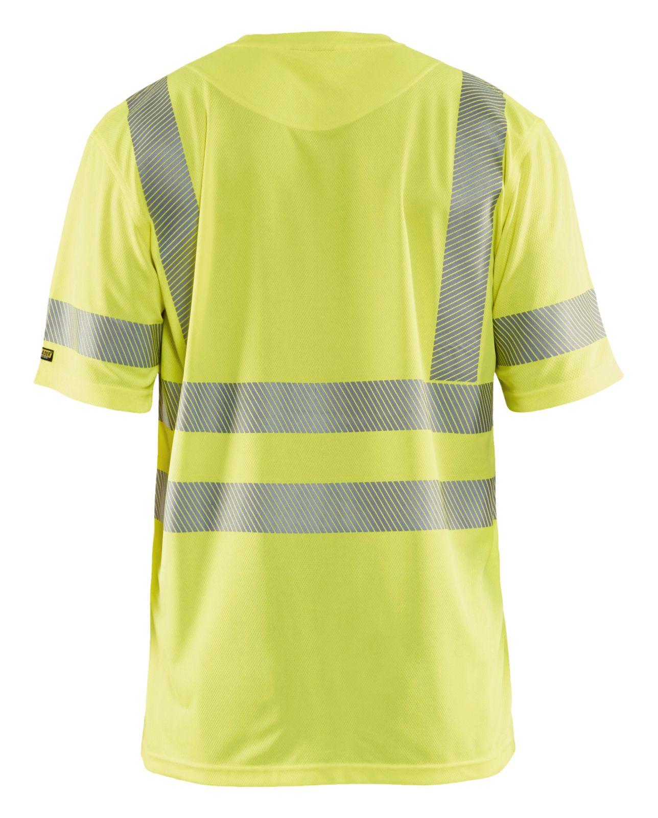 Blaklader T-shirts 34201013 High Vis UPF40+ UV geel(3300)