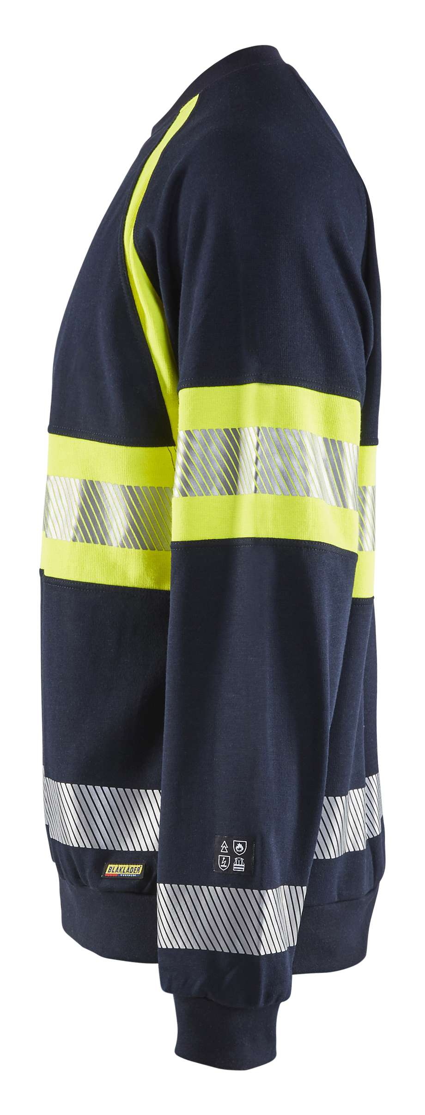 Blaklader Truien 34591760 Multinorm marineblauw-geel(8933)