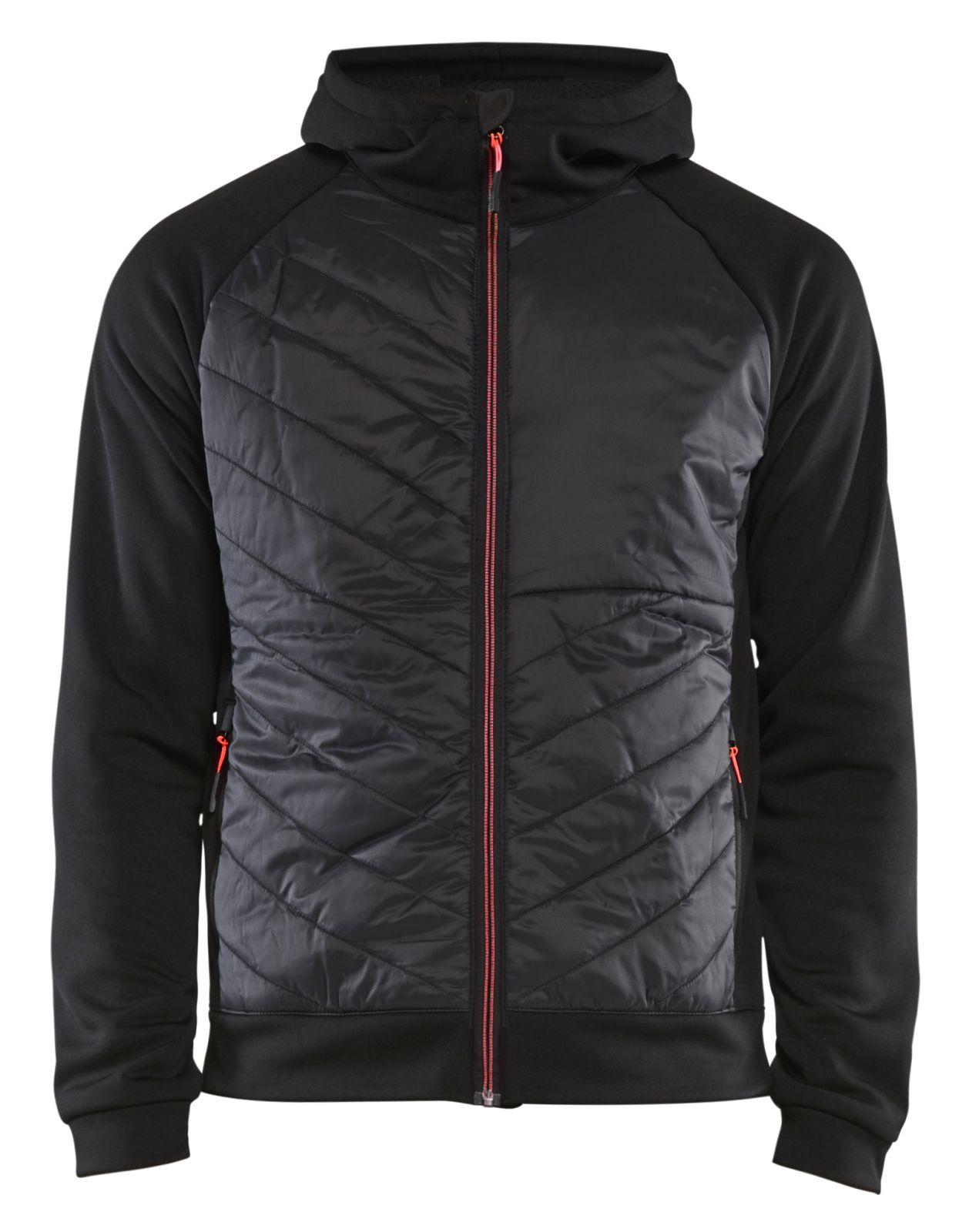 Blaklader Jassen 34632526 zwart-rood(9956)